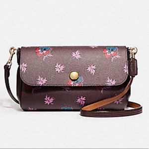 Coach Reversible Crossbody Wildflower Bag Purse